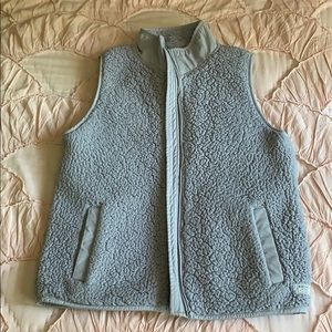 Abercrombie and Fitch Sherpa vest